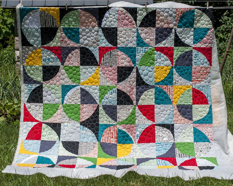 Custom quilting whole