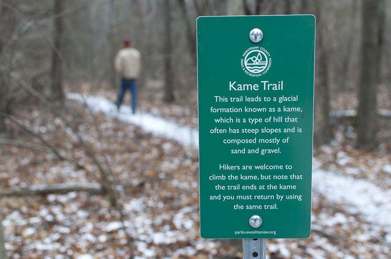Kame trail