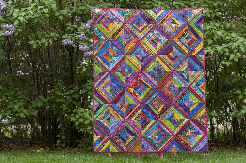 Rose trellis full quilt