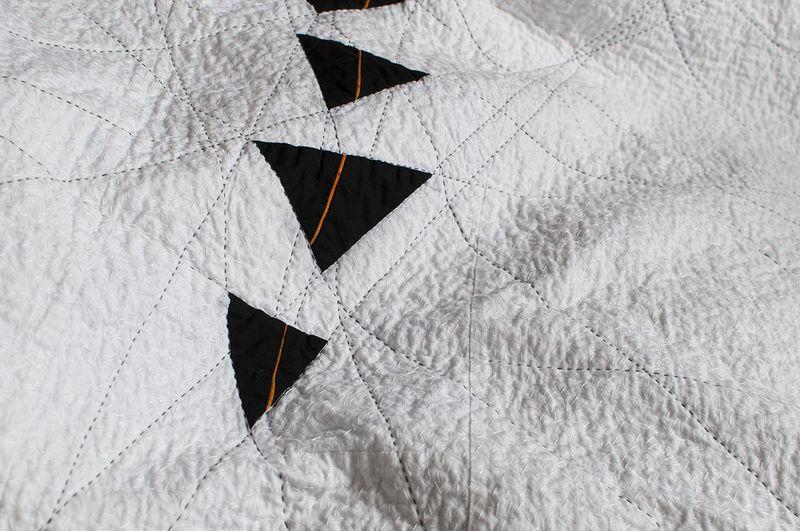 Coal seam texture finished