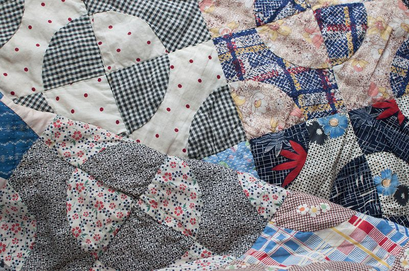 Coverlet fabric