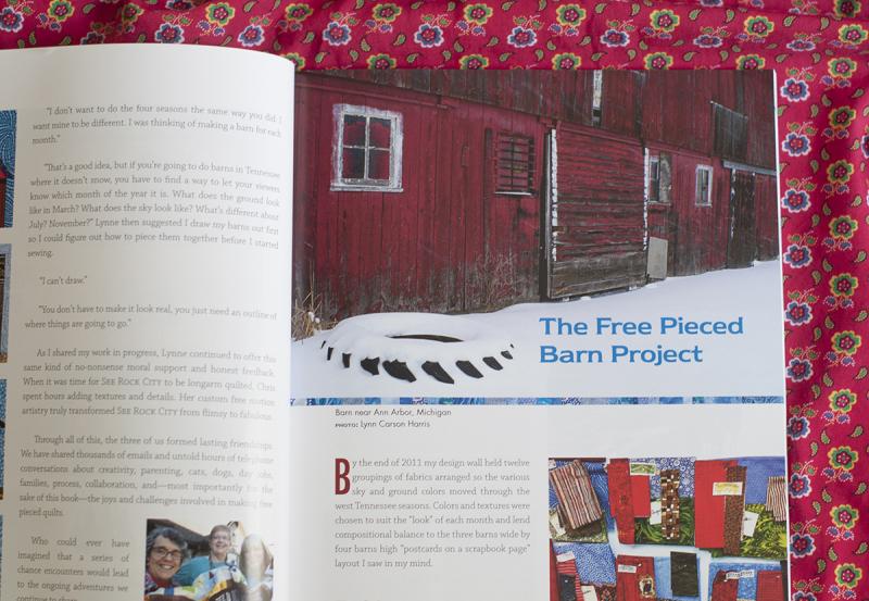 Build a barn section header