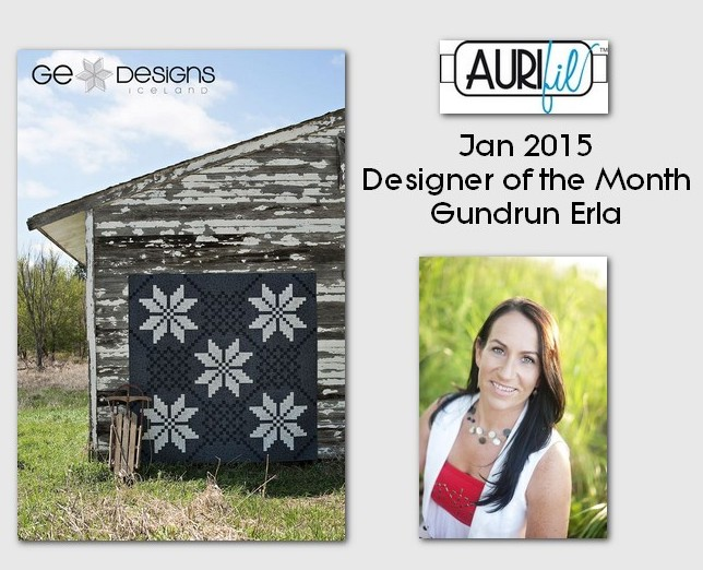 Aurifil Jan 2015 Designer of the Month Gudrun Erla