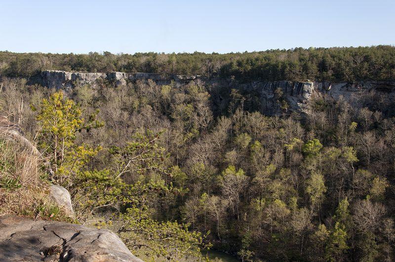 Spring break 7 cliffs