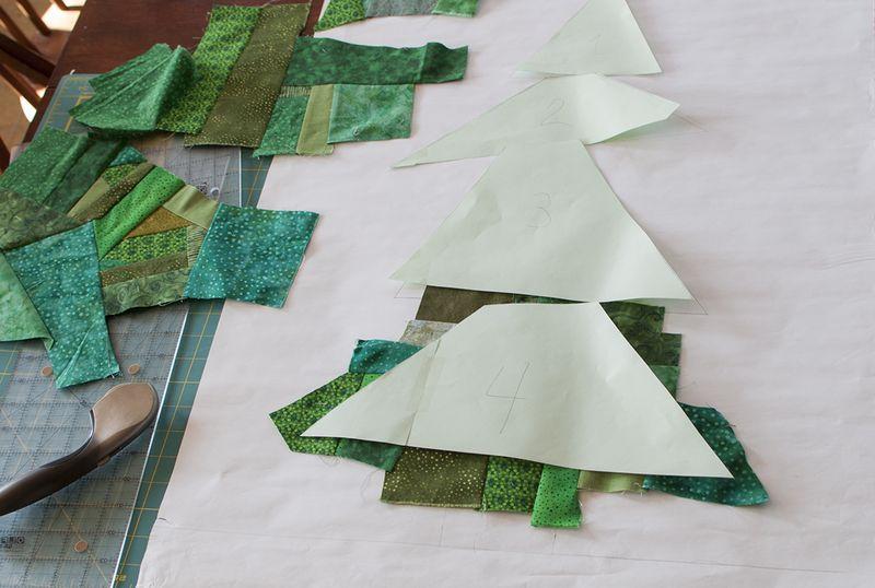 Advent tree green