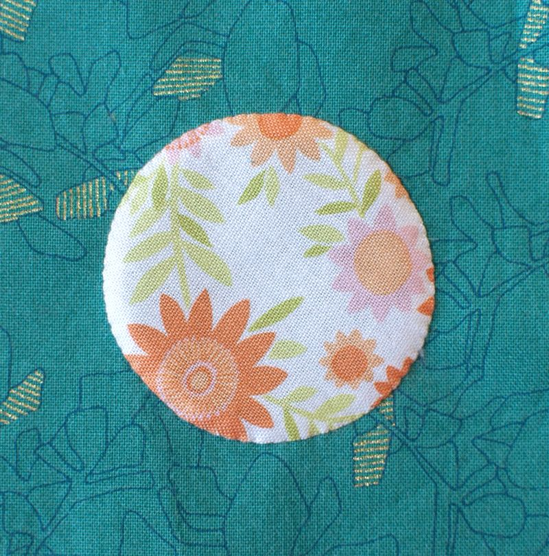 Off the chart applique circle