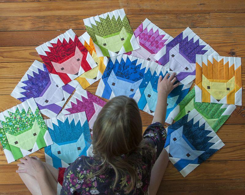 Hedgehog blocks