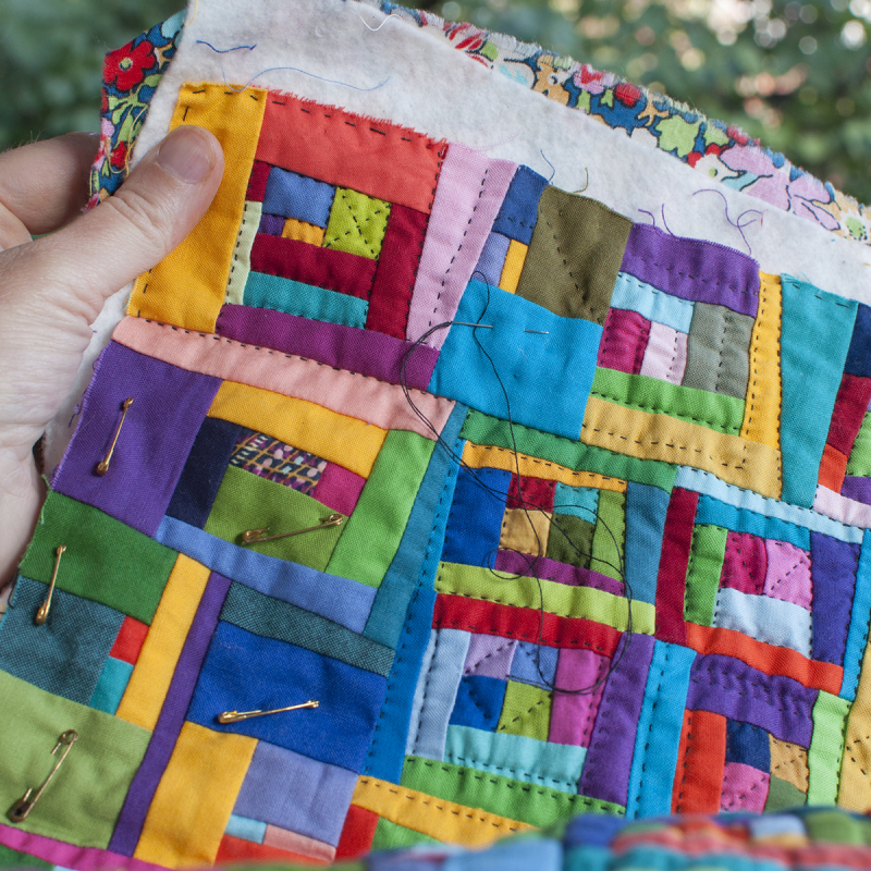 Liberated quilting