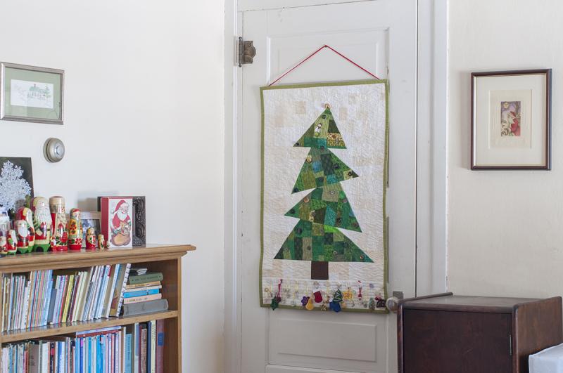 Advent hanging
