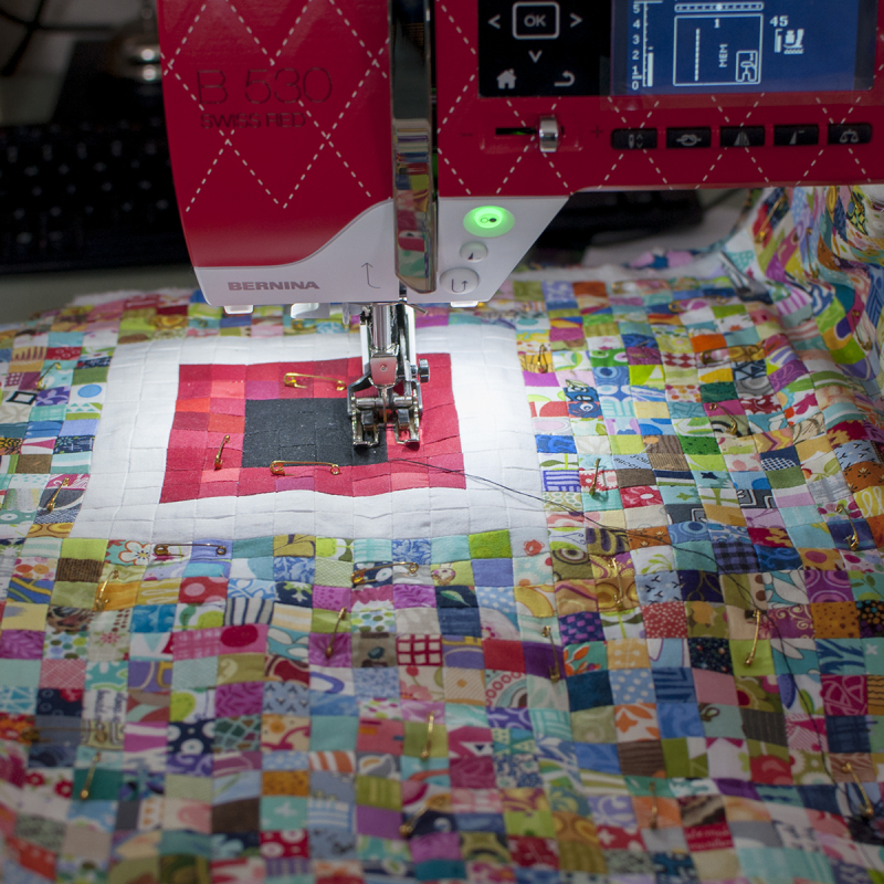 Quilting isolation