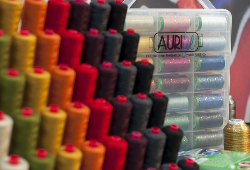 Aurifil fall colors