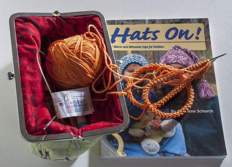 P earflap hat