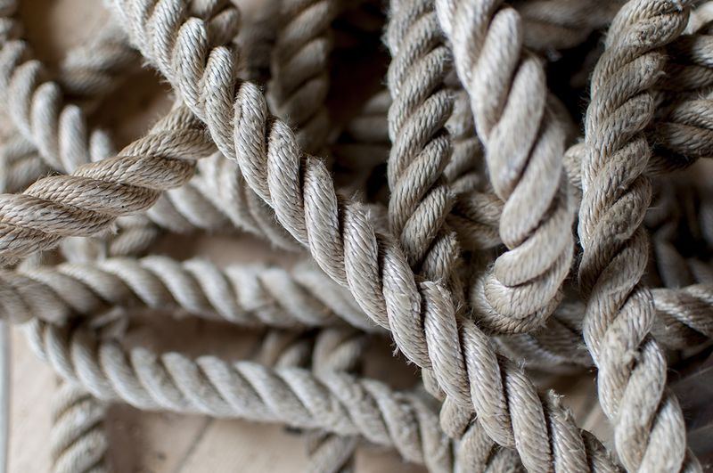 Barn things - rope