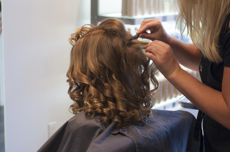 Wedding - P hair