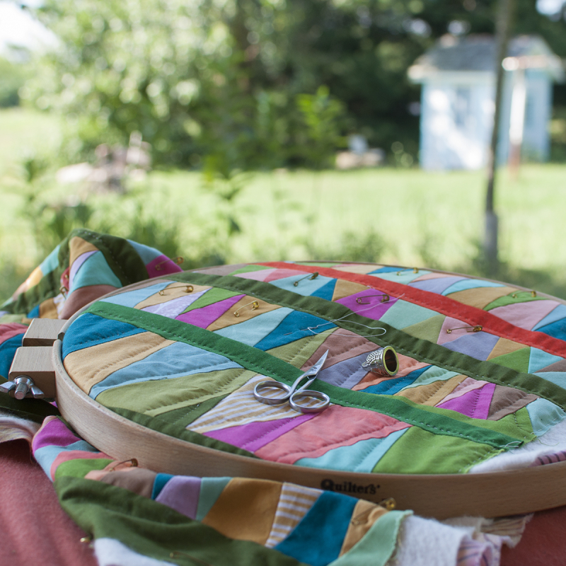 Outside quilting