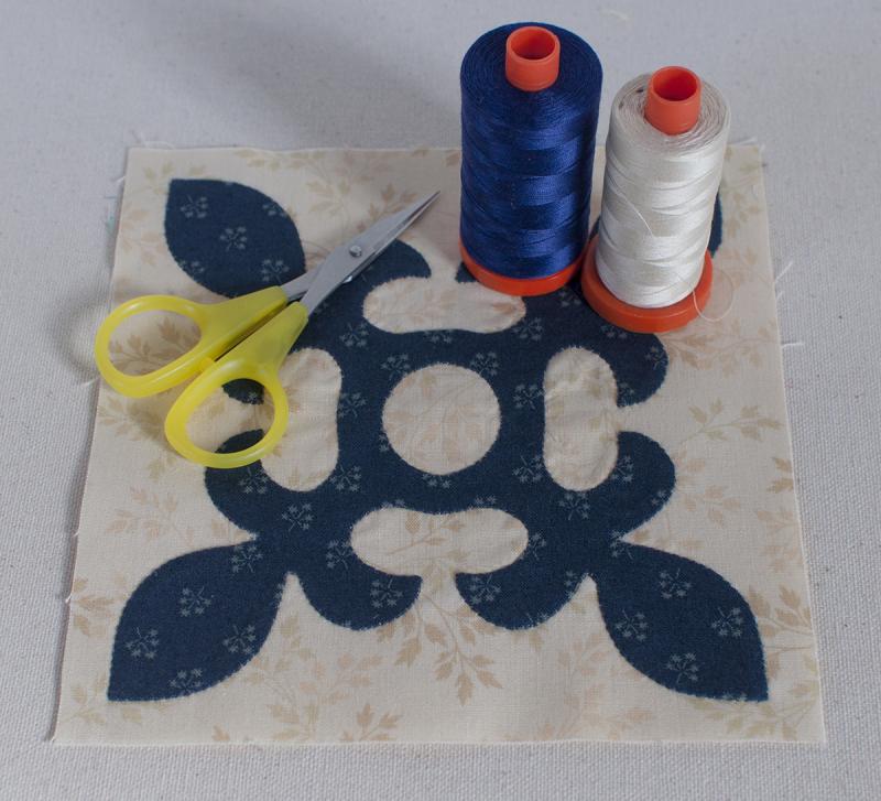 Applique and thread