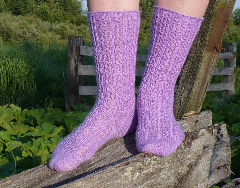 Lavender_socks
